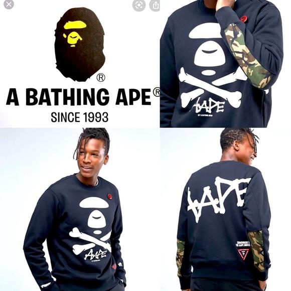 Bape Logo sweatshirt